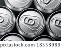 Aluminum cans 18558989
