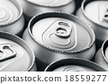 Pattern from much of drinking cans of beer 18559277