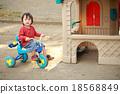 三輪車 踩踏板 划槳 18568849