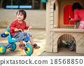 세발 자전거, 아이, 어린이 18568850