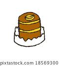 케이크 18569300