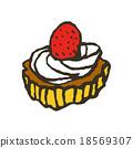 딸기 타르트 18569307