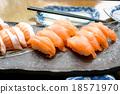 Salmon sushi 18571970