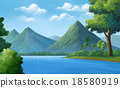 Rivers, mountains, forests 18580919