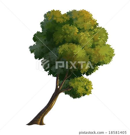 tree paint 18581405