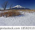 富士山 雪景 冬天 18582010