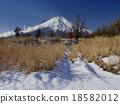 富士山 雪景 冬天 18582012