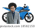 Motorbike Motorcycle Bike Roadster Transportation Concept 18582150