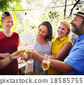cheers, diverse, drinks 18585755