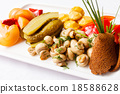 plate of pickles 18588628