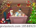 christmas, desk, noel 18588920