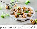 food,snail,appetizer 18589235