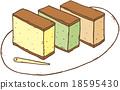 長崎蛋糕 男扮伽師 烘焙甜食 18595430