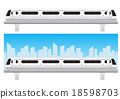 Bangkok subwaytrain icon vector illustration 18598703