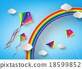 kite on sky 18599852