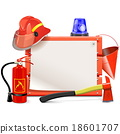 Vector Firefighter Board 18601707