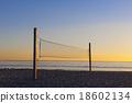 海灘 日落 網路 18602134