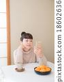 炬燵 女性 女 18602636