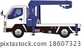 crane truck, hauling, crane 18607323