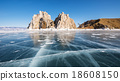 Baikal lake in wintertime, Siberia, Russia 18608150
