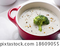 Broccoli Cream Soup 18609055