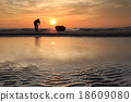 Photographer shooting the Boats at the beach  18609080