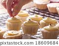 Making cupcakes 18609684