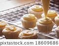 Making cupcakes 18609686