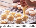 Making cupcakes 18609687