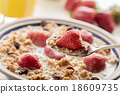 Healthy breakfast. 18609735