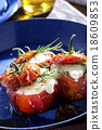 Roasted tomatoes cheese 18609853