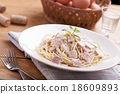 spaghetti carbonara 18609893