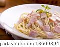 spaghetti carbonara 18609894