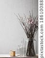 Decorative elements with retro stuff 18610088