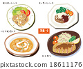 西餐 南瓜湯 炸豬排 18611176