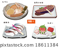 日本食品 日本料理 日式料理 18611384