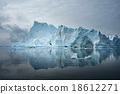 Icebergs in Disko bay, North Greenland 18612271