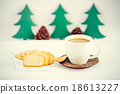 Christmas coffee cup 18613227