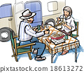 camper, camper van, motorhome 18613272