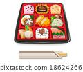 便當 午餐盒 營養 18624266