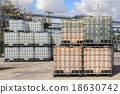 Plastic tanks container 18630742