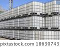 Plastic tanks container 18630743
