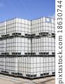 Plastic tanks container 18630744
