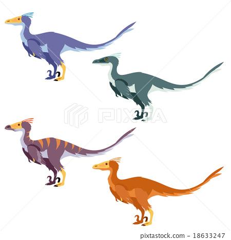Set of raptors 18633247