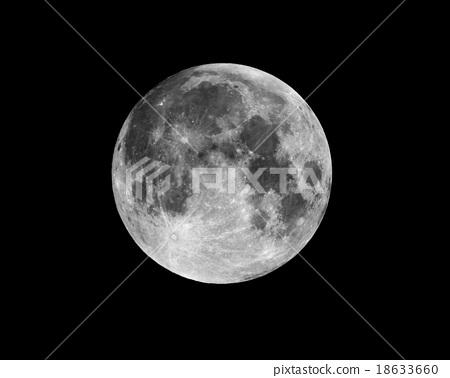 Full Moon at night 18633660