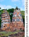 ayutthaya destroyed ruins 18640091