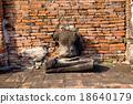 ayutthaya destroyed ruins 18640179