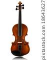 mini violin 18643627