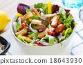 Mushroom salad 18643930