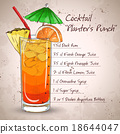 Planter Punch cocktail  18644047
